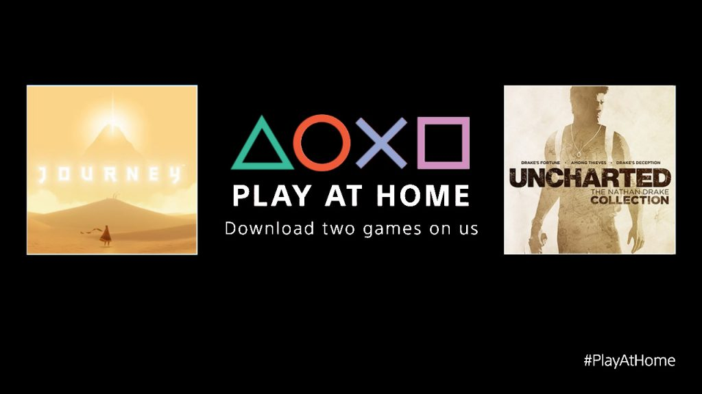 Sony S Play At Home Initiative Includes Uncharted The Nathan Drake Collection Journey For Free Playstation Universe