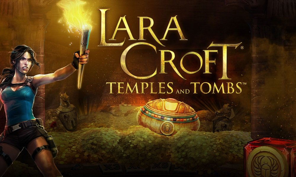 Microgaming Celebrates Release Of Lara Croft Temples And Tombs Slot Game Playstation Universe