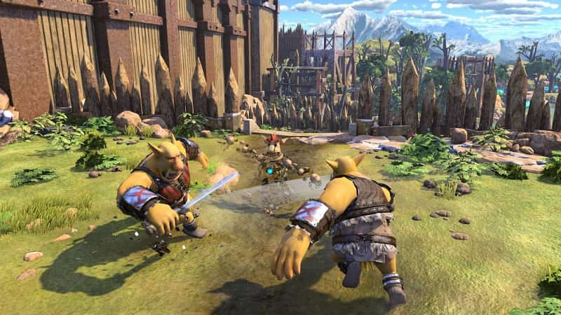 PS4 launch titles knack