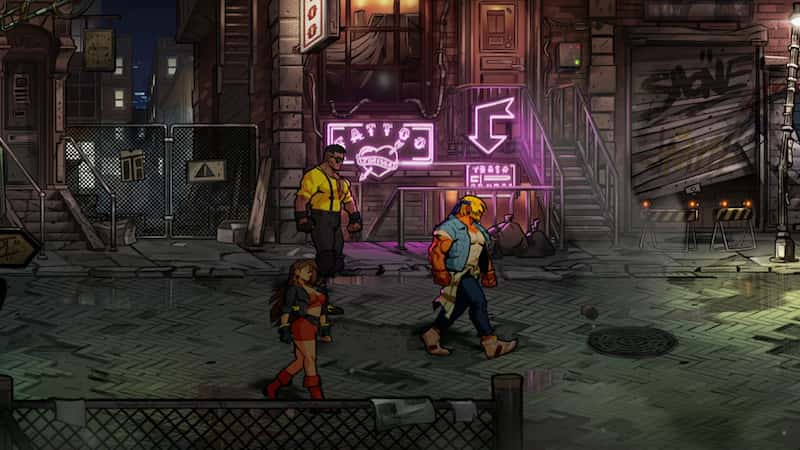 streets of rage 4 ps4 review 1