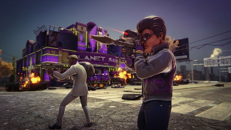 Saints Row The Third Remastered PS4 Review 2