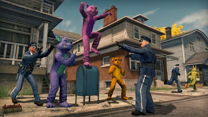 Saints Row The Third Remastered PS4 Review 4
