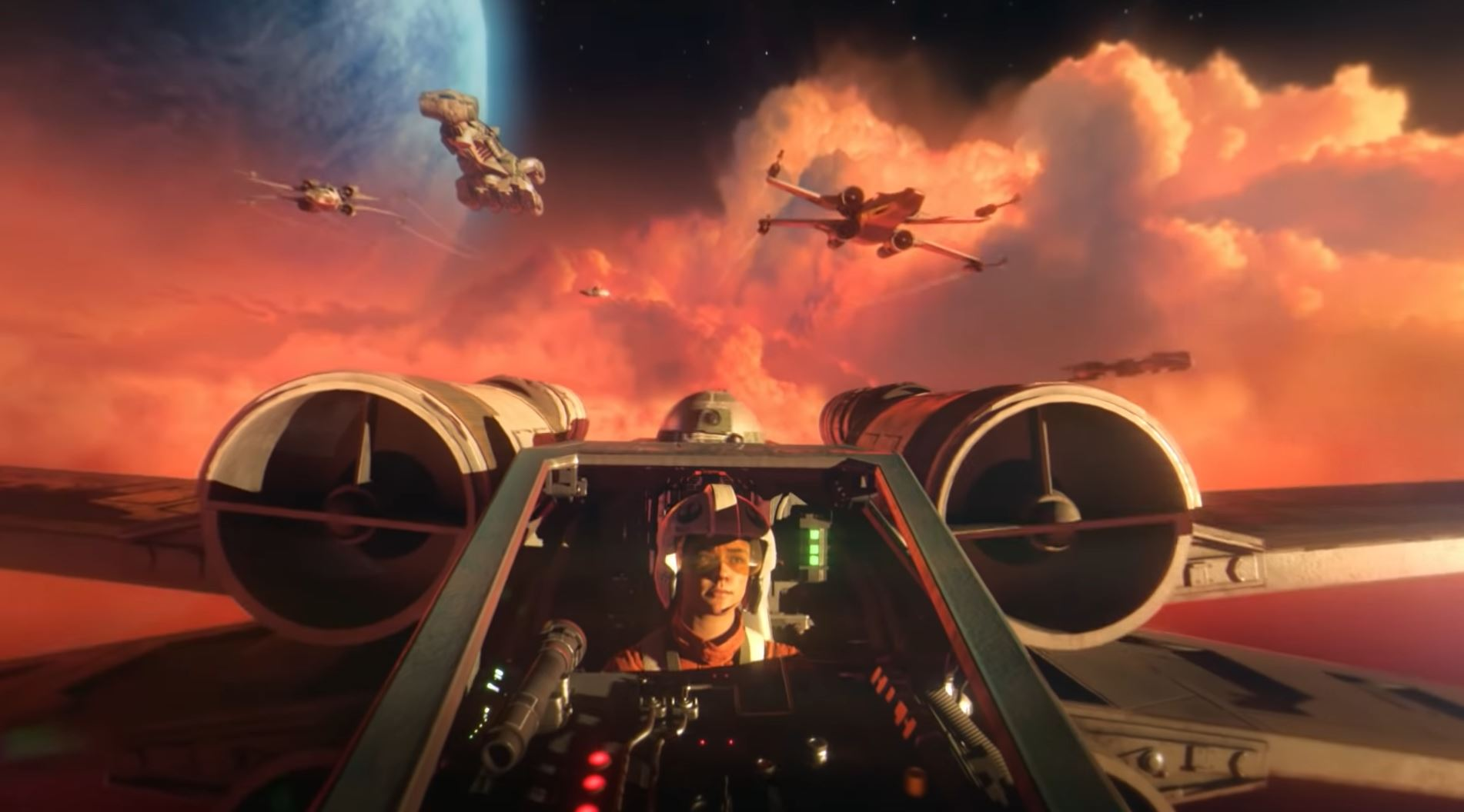 does star wars squadrons support psvr