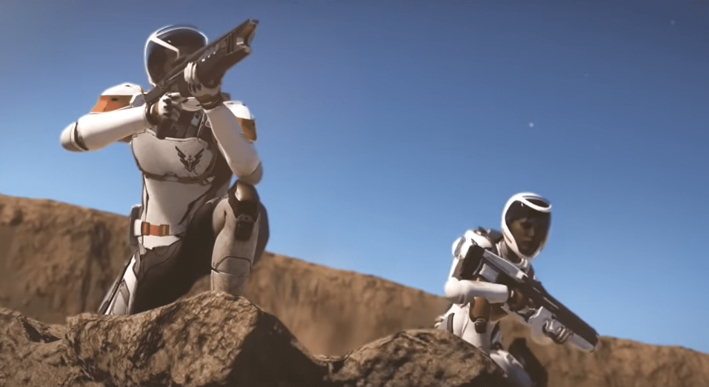Elite Dangerous Odyssey trailer teases space legs and guns