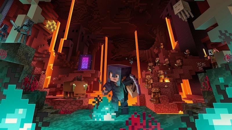 Minecraft Nether Update PS4