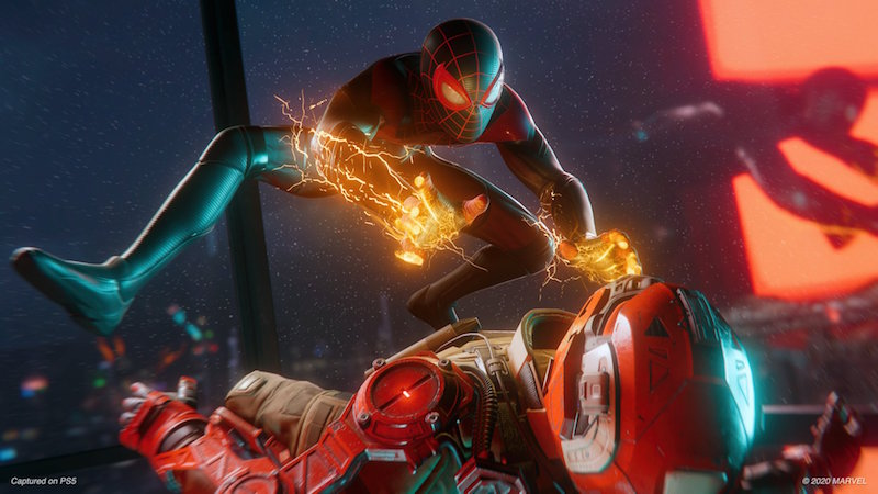 PS5 Launch titles Spider Man 2