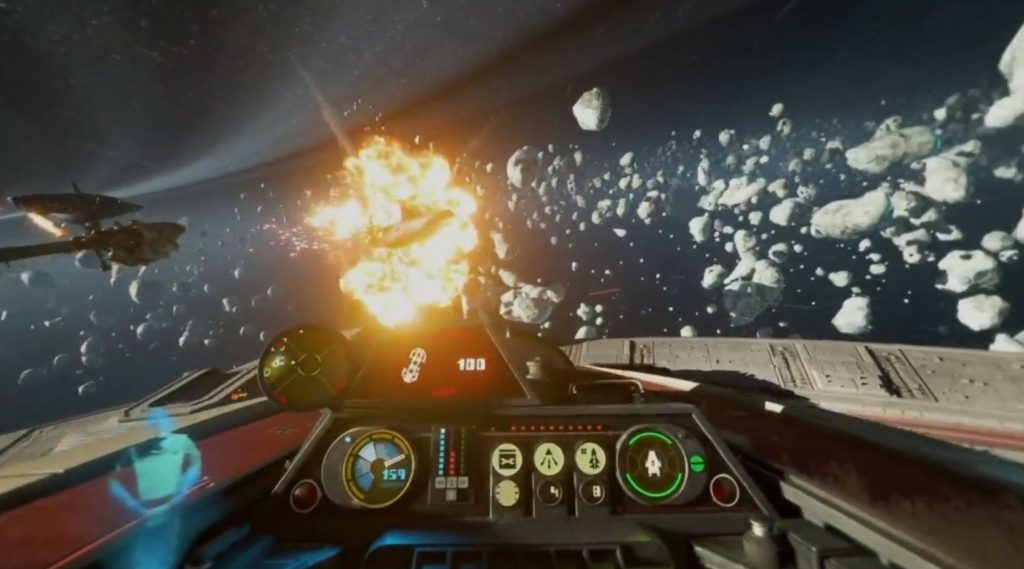 Star Wars Squadrons Stunning PS4 Gameplay Unveiled ...