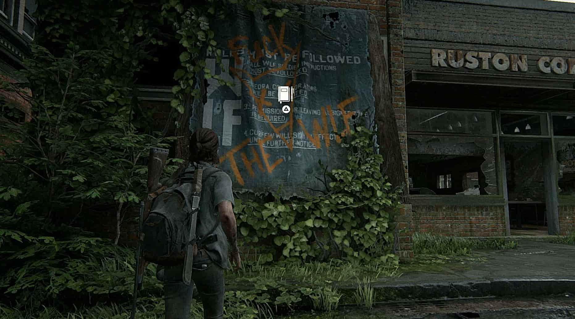 the last of us part 2 journal entry locations 15 - The Last of Us Parte 2 - Guida alla posizione di tutte le voci del diario