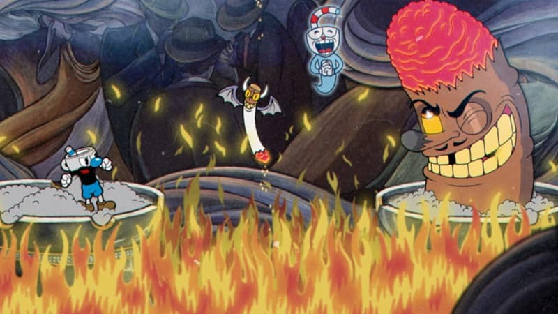 Cuphead PS4 Review 4