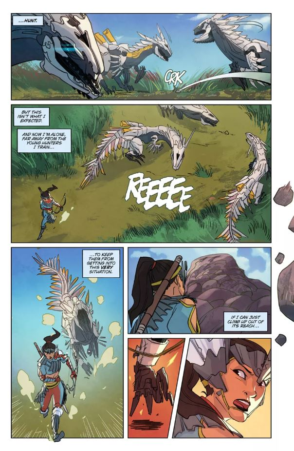 see-four-pages-from-the-upcoming-horizon-zero-dawn-comic-book-1