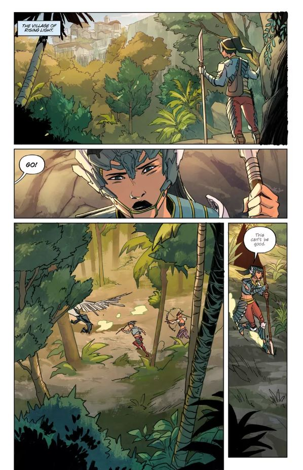 see-four-pages-from-the-upcoming-horizon-zero-dawn-comic-book