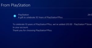 sony-sending-out-free-ps-store-credit-to-playstation-plus-subscribers