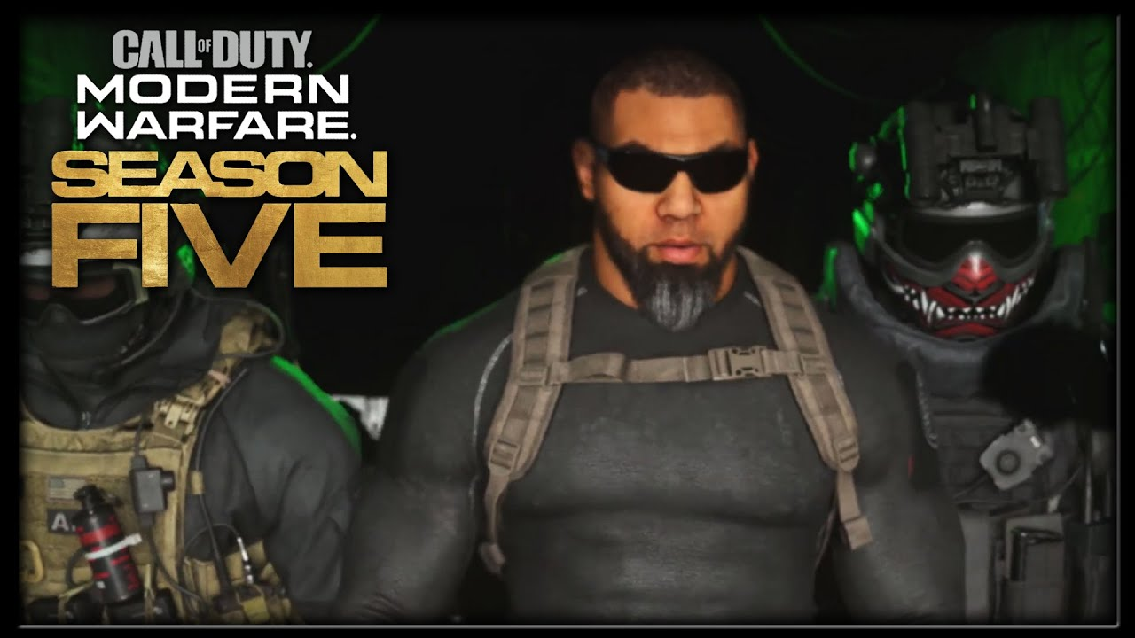 Call Of Duty Modern Warfare Season 5 Trailer Unleashed Reveals