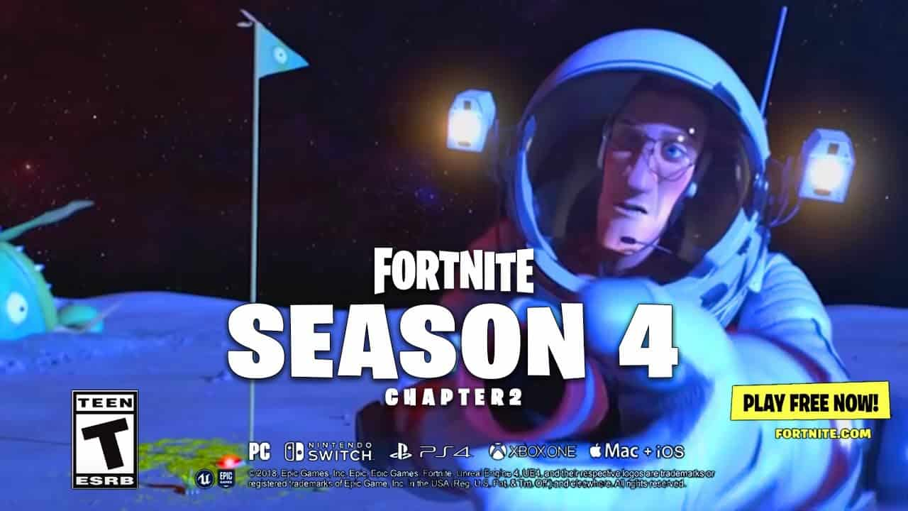Fortnite Patch Notes For Update 2 82 Confirmed Kicks Off Season 4 Nexus War Playstation Universe