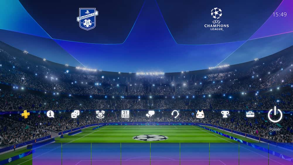 Free PS4 UEFA Champions League Dynamic Theme Out Now