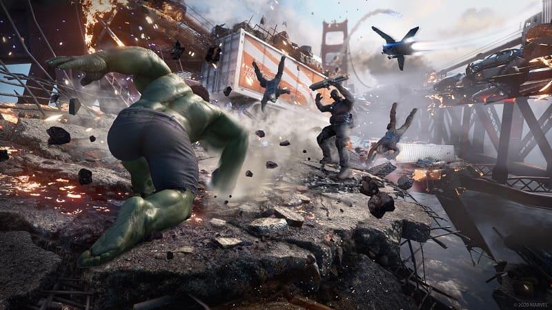Marvels Avengers PS4 Beta 1