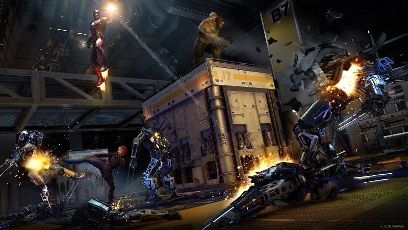 Marvels Avengers PS4 beta 2