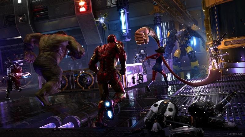 Marvels Avengers PS4 closed beta 3