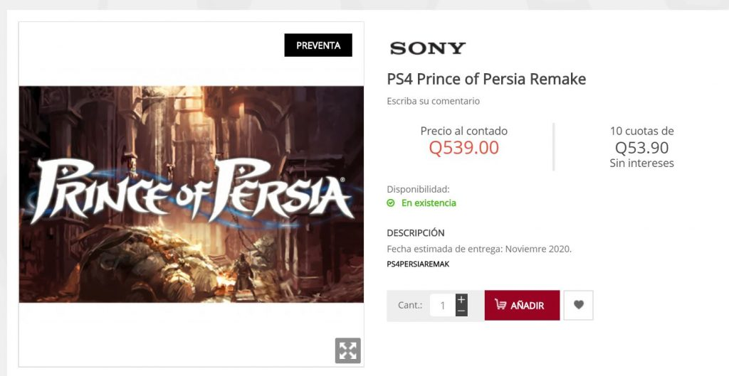 prince-of-persia-remake-listed-for-ps4-on-guatemalan-retailer