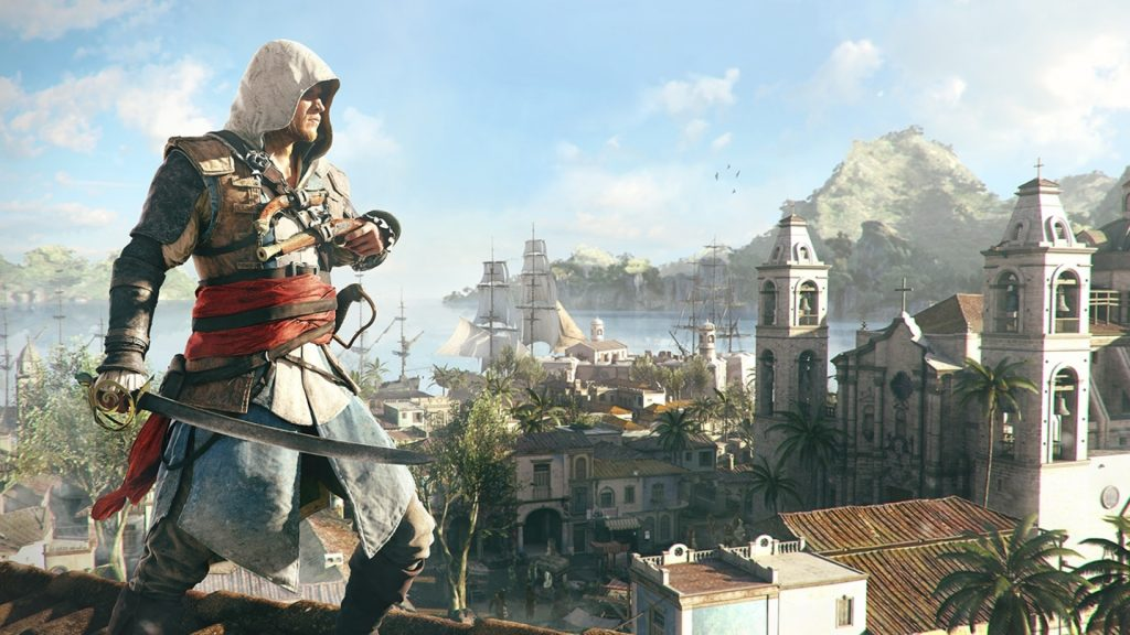 Assassin's Creed IV Black Flag - PS4 - Wallpapers - 1920x1080