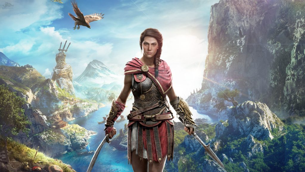 Assassin's Creed: Odyssey - PS4 - Wallpapers - 1920x1080