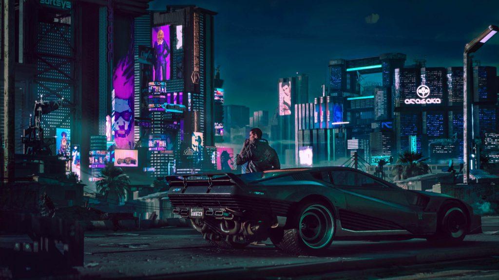 Cyberpunk 2077 - PS4 / PS5 - Wallpapers - 1920x1080
