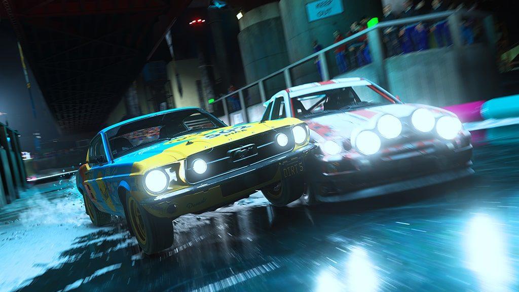 Dirt 5 - Codemasters - Ice racing Gameplay - PS5