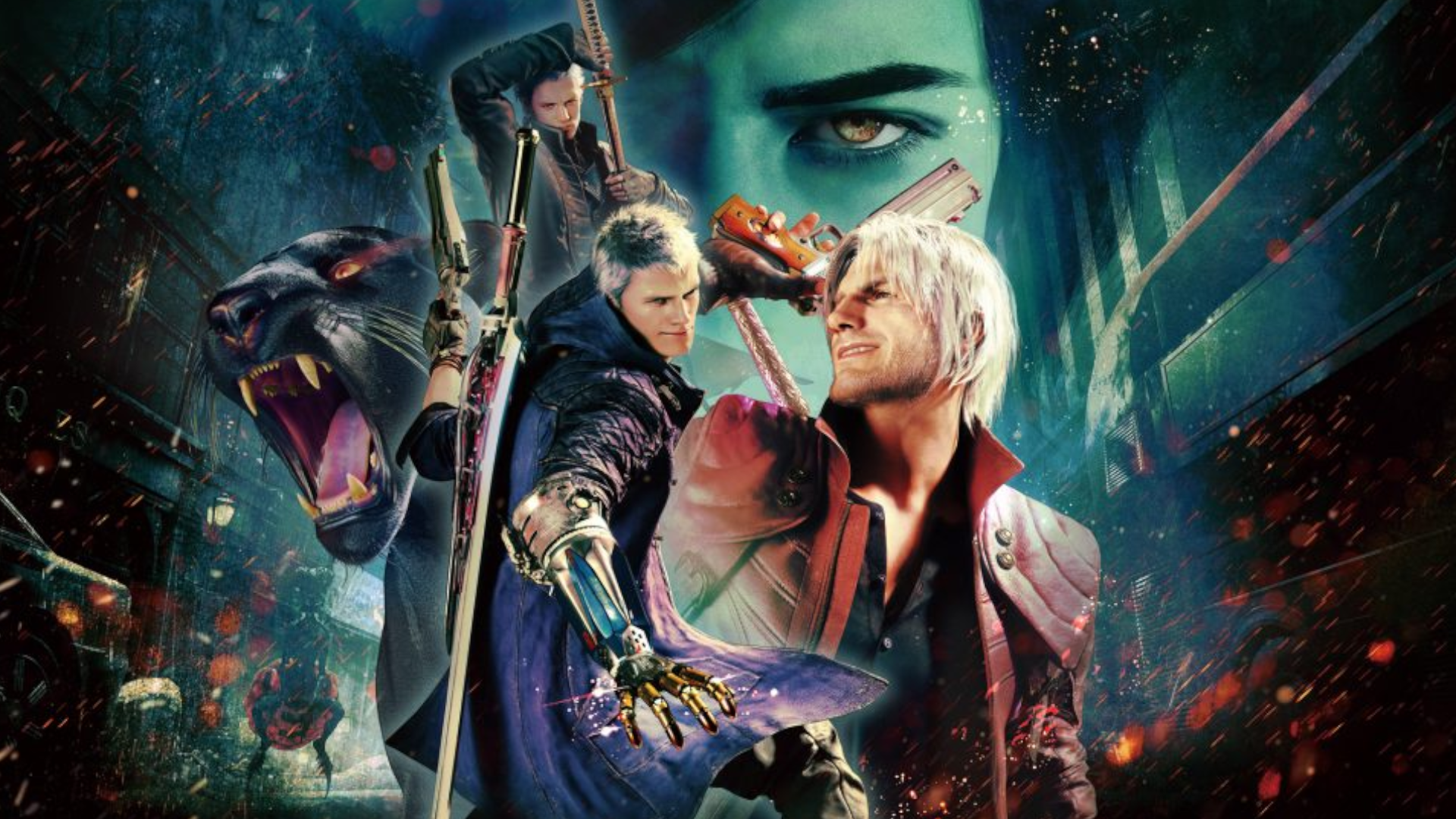 Devil May Cry 5: Special Edition - PS5 - Wallpapers