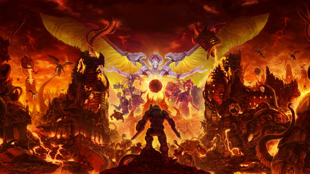 Doom Eternal - PS4 - Wallpapers - 1920x1080