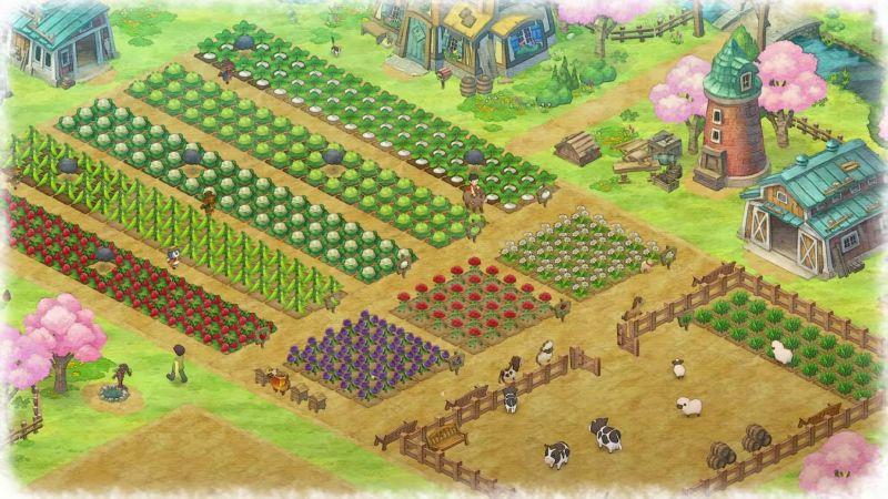 Doraemon-story-of-seasons-ps4-review-farm