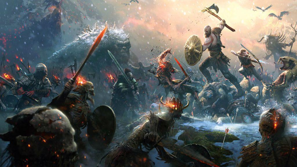 God of War - PS4 - Wallpaper - 1920x1080