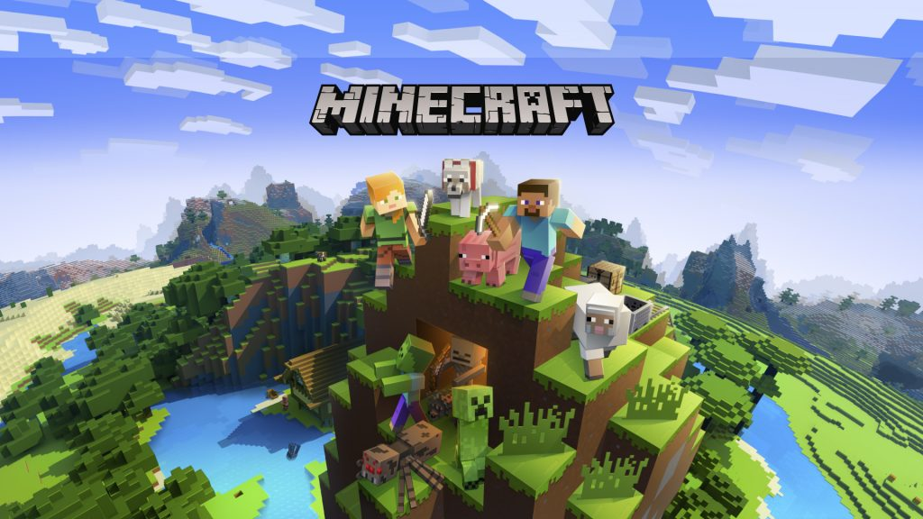 Minecraft - PS4 - Wallpapers -1920x1080