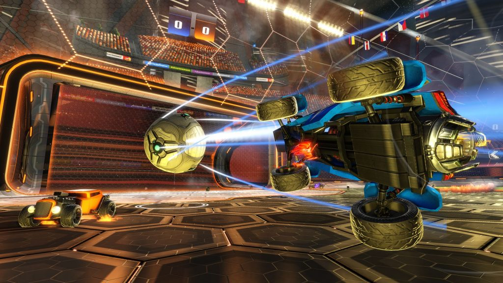 Rocket League - PS4 - Wallpapers - 1920x1080