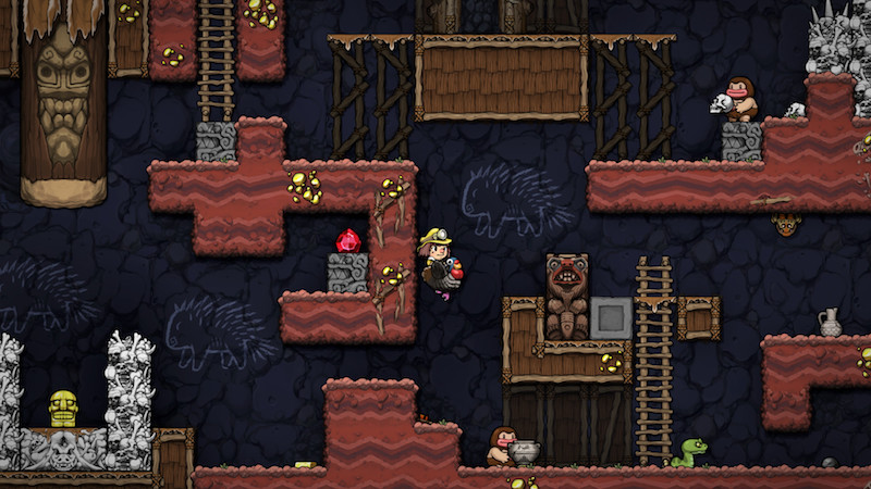 Best PS4 Games 2020 Spelunky 2