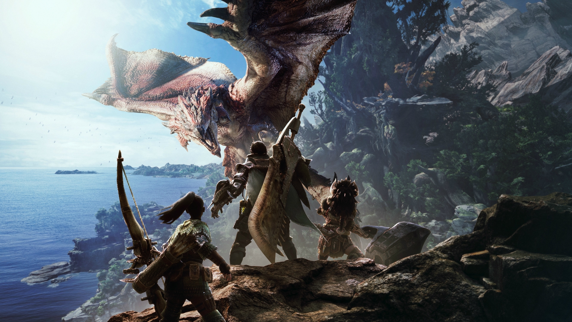 Monster Hunter: World and Iceborne Wallpapers - PlayStation Universe