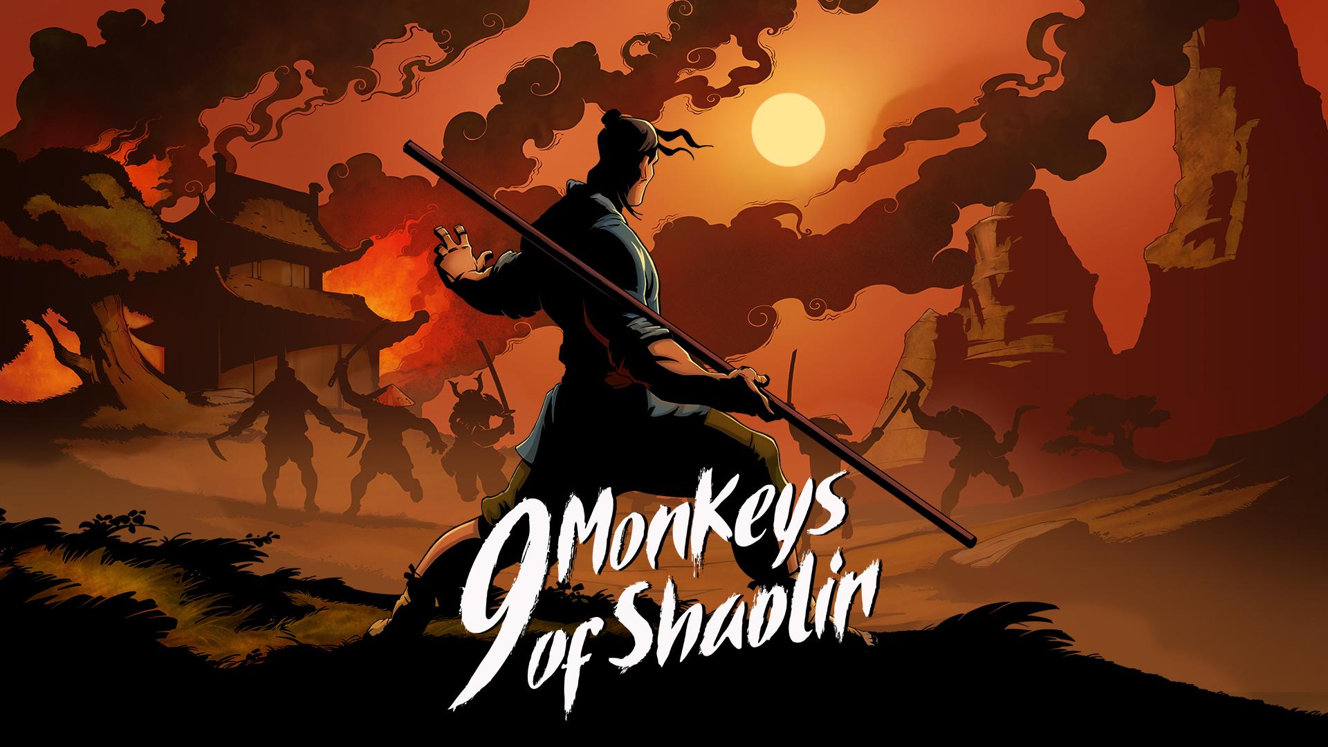 9 Monkeys of Shaolin Wallpapers