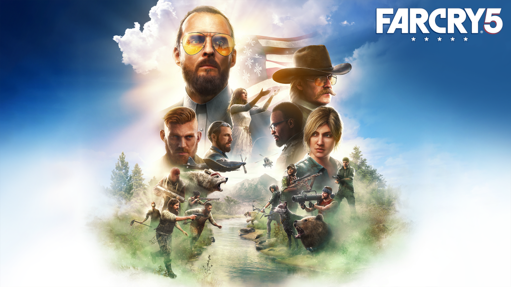 Far Cry 5 - PS4 - Wallpapers - 1920x1080