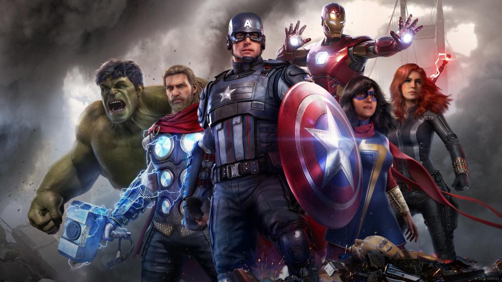 Marvel's Avengers - PS4 - Wallpapers - 1920x1080