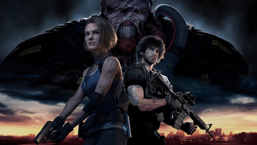 Resident Evil 3 Remake - PS4 - Wallpapers - 1920x1080