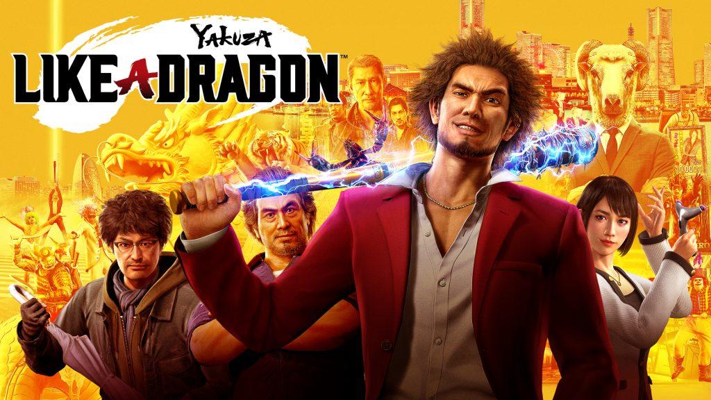 Yakuza Like A Dragon - PS4 / PS5 - Wallpapers - 1920x1080