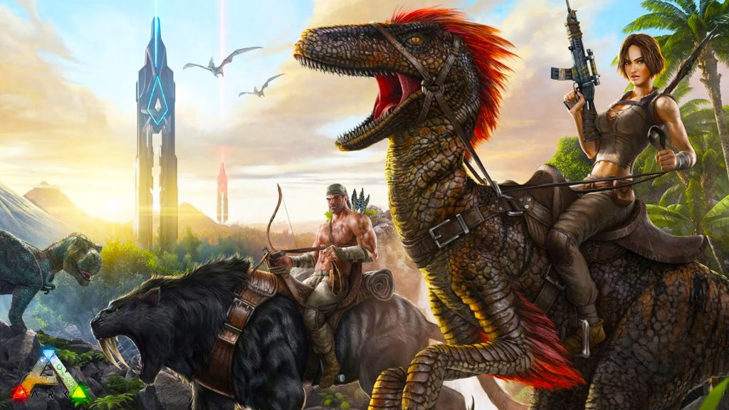 Ark: Survival Evolved - PS4 - Wallpapers - 1920x1080