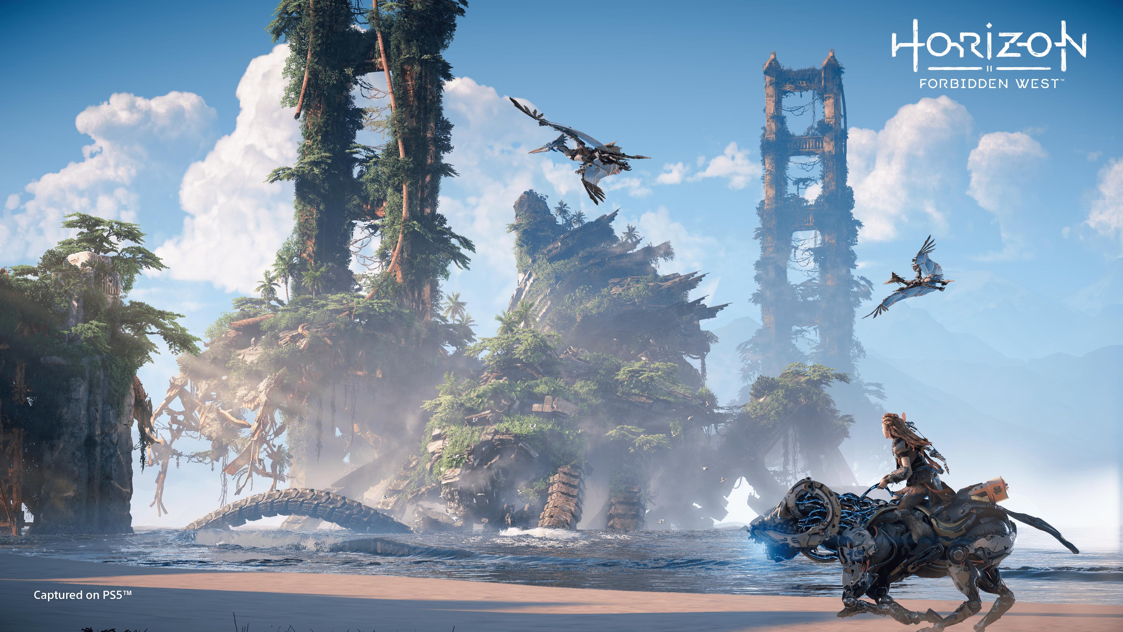 Horizon Forbidden West - PS4 / PS5 - Wallpapers - 4K