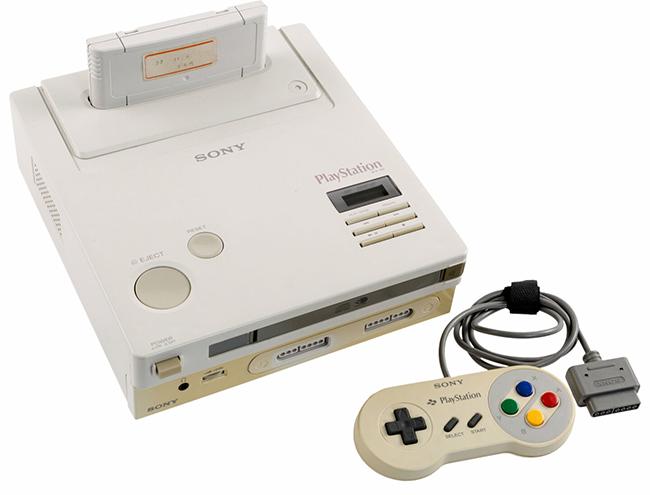 Nintendo PlayStation - Super NES CD-ROM