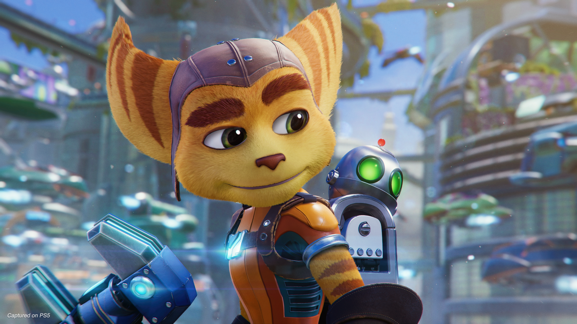Ratchet & Clank: A Rift Apart - PS5 - Wallpapers - 1920x1080