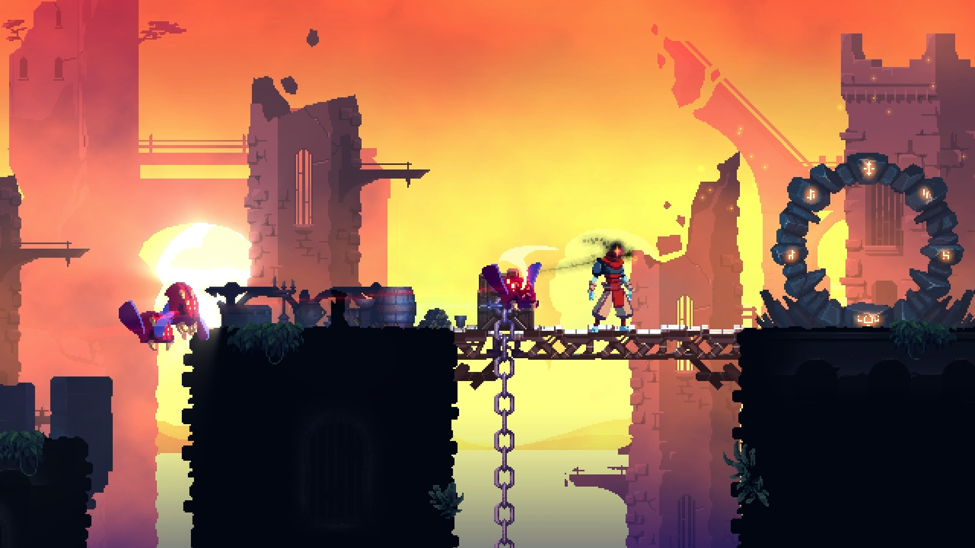Dead Cells - PS4 - Wallpapers - 1920x1080