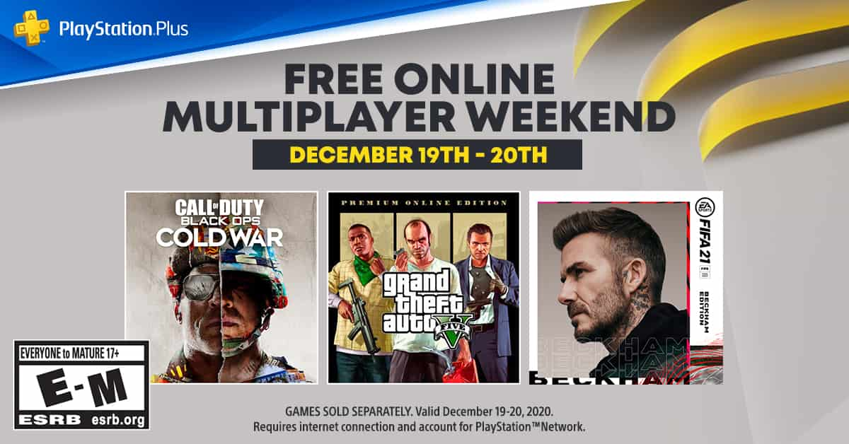 Free Weekend For Multiplayer PS5 And PS4 Games Coming In December