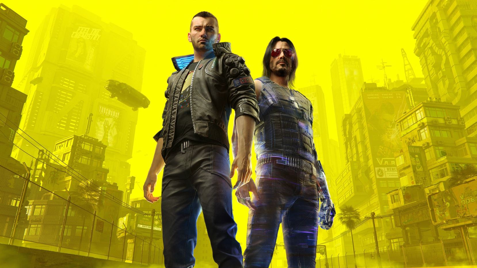 Keanu Reeves' Johnny Silverhand Will Be Playable in Cyberpunk 2077