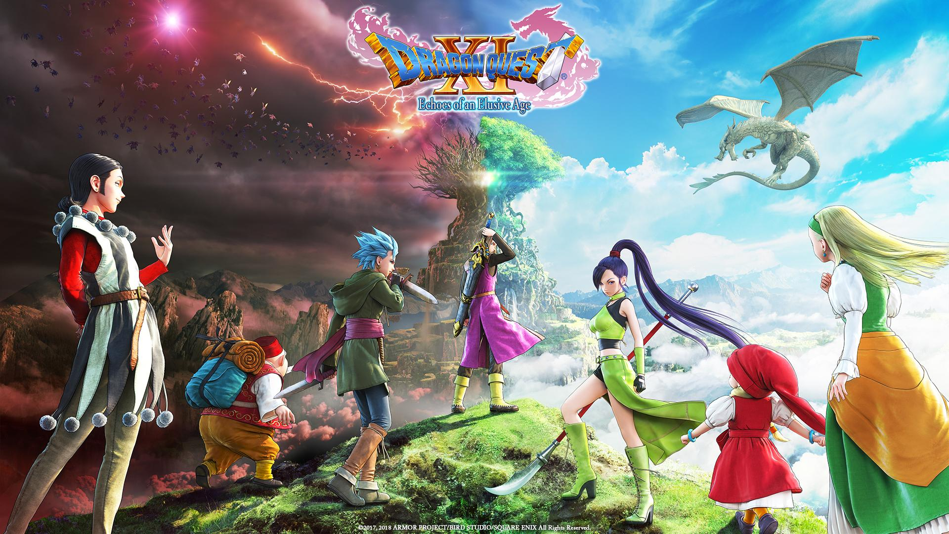 Dragon Quest Xi S: Echoes Of An Elusive Age - PS4 - Wallpapers