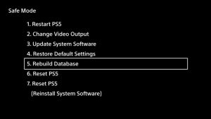 Hpw To Safe PS5 Into Safe Mode