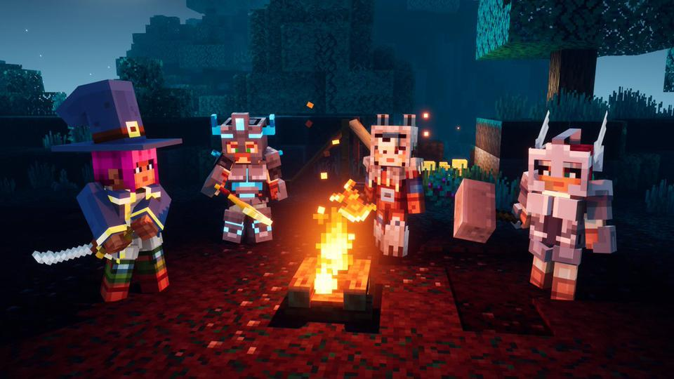 Minecraft Dungeons Update 1.10 Announced For PS4